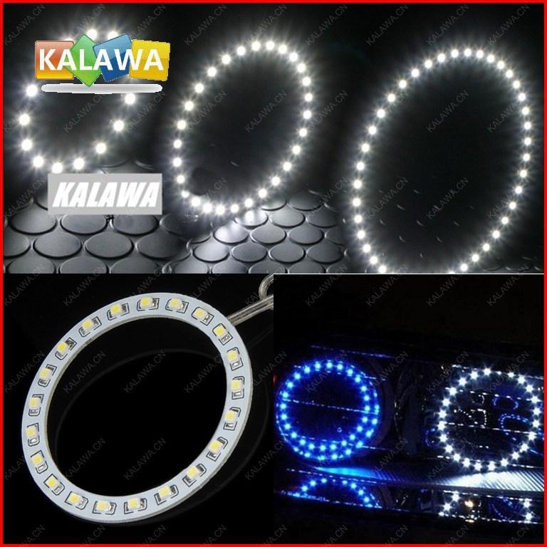 2pcs/lot 70mm LED Angel eyes ring 21 SMD 3528 1210 Universal Car Auto Headlight LED halo ring DC12V FREESHIPPING GGG(China (Mainland))