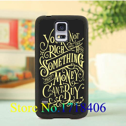 You're not rich until you have something that money can't buy case for samsung galaxy S3 S4 S5 s6 s7 s6 edge s7 edge note 3 4 5(China (Mainland))