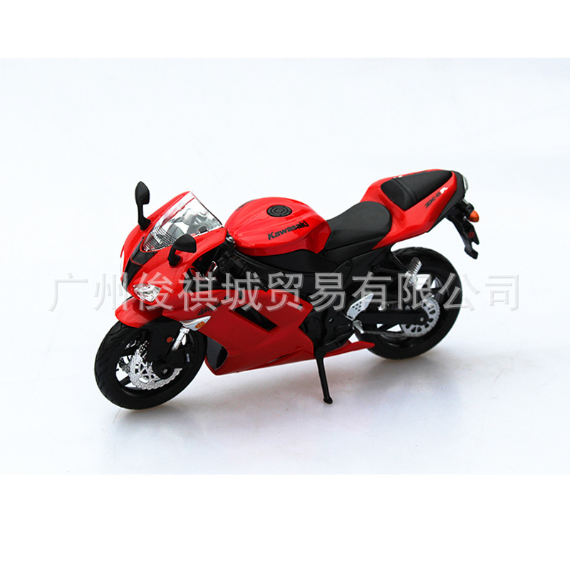 hot sale Maisto authentic alloy motorcycle 1:12 KAWASAKI ZX - 6 r alloy model toys metal motor models for collection(China (Mainland))