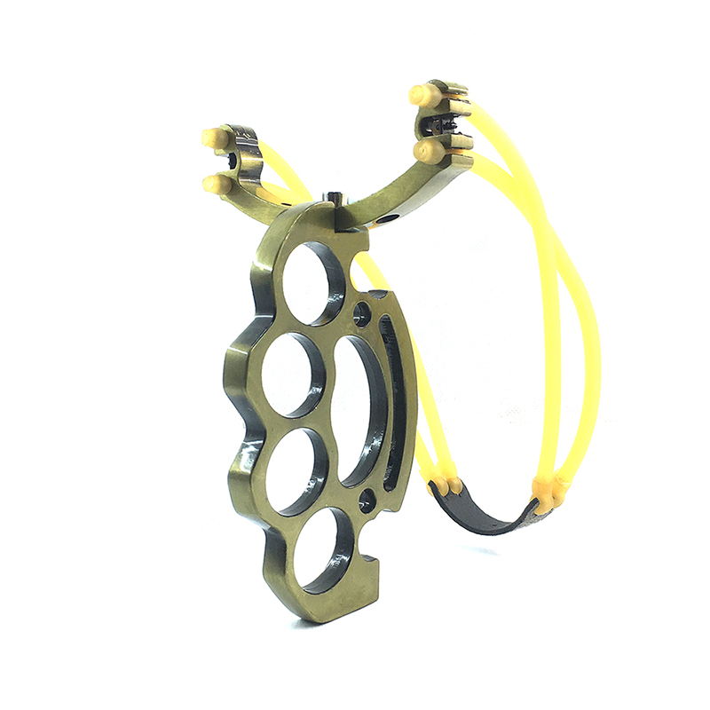 Powerful Compound Rubber Tube Slingshot Pocket Hunting Slingshot Catapult Outdoor Hunting Tool(China (Mainland))