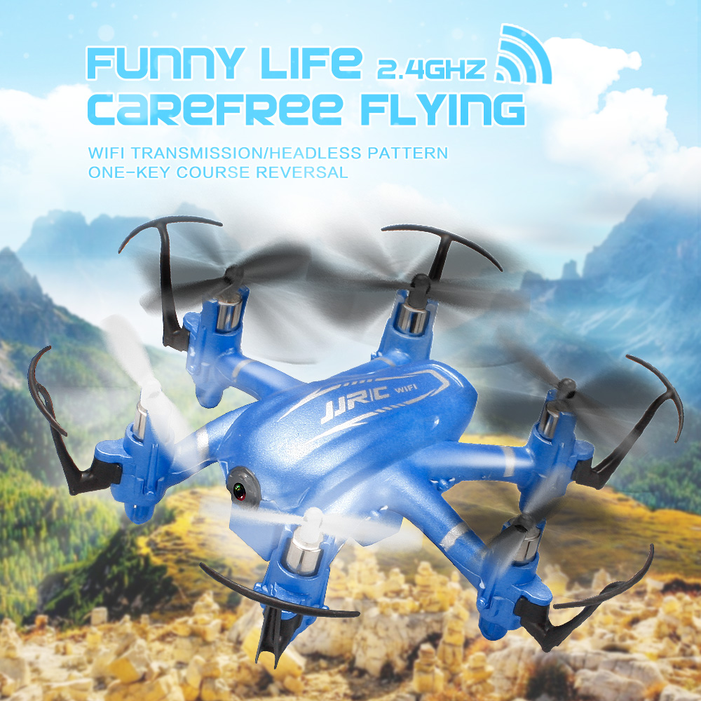 JJRC H20W WIFI FPV Drone 2.0MP Mini Drones With Camera 2.4GHz 4CH 6 Axle RC Helicopter Radio Control Flying Camera Kvadrokopter(China (Mainland))