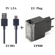 Original EP880 1.5A USB Fast Charger Adapter ( US EU ) For SONY Xperia Z Ultra SL C ZR Z1 MINI M51W (Z1 Compact) L39H XL39H(China (Mainland))