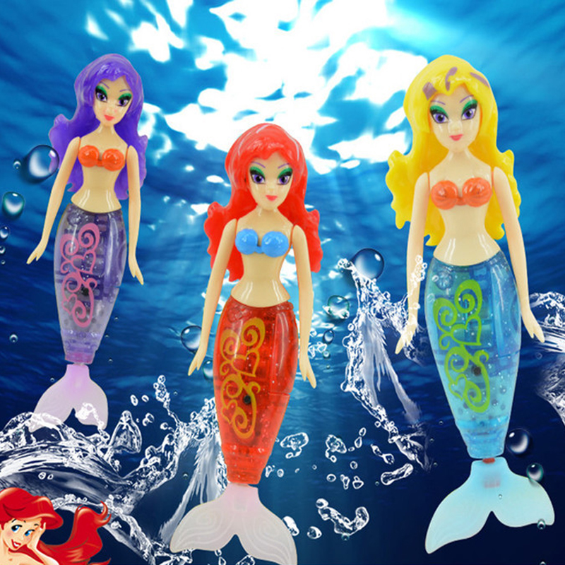 Beautiful Mermaid Electronic Fish Robofish Activated Battery Powered Robo Fish Toy Childen Robotic Pet Gift Random Color(China (Mainland))