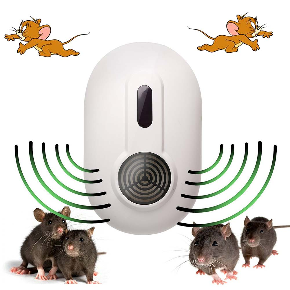 Home Ultrasonic Plug In Mouse Repellent Device Pest Control Mice Repeller Equipment 2017ing(China (Mainland))