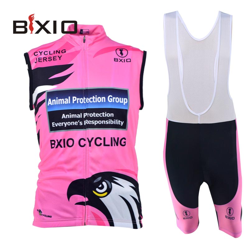 Bxio Womens Cycling Jersey Ropa Ciclismo Mujer Pro Mountain Bike Clothing Sleeveless Summer Style Hot Sale Jerseys BX-0309R067(China (Mainland))