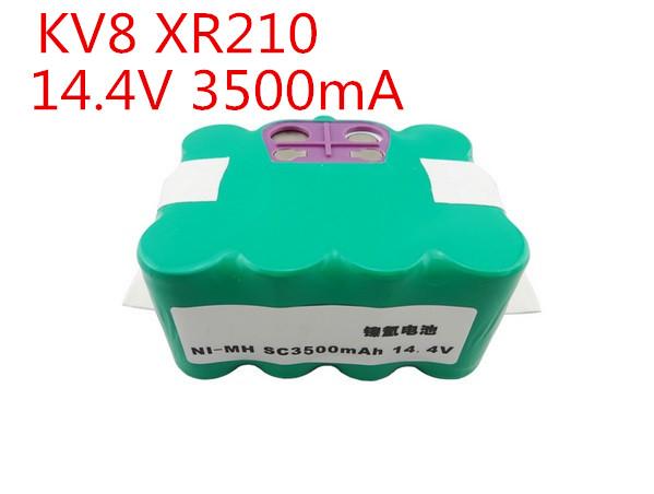 14.4V 3500mAh Robotics Battery for KV8 XR210,Cleanna XR210series Meidea M320,Zebot Z320,Kaily 310,A325 Robot Cleaner(China (Mainland))