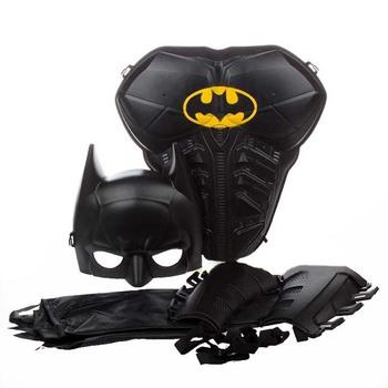 Unisex Children Kids Batman Superman Armor Mask Cloak Stage Shown Props