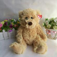 Buy Stock Original Ty Beanies Big Eyed Stuffed Animal boris bear Plush Doll Kids Toy 25CM Birthday Gift Bright Colors for $9.99 in AliExpress store