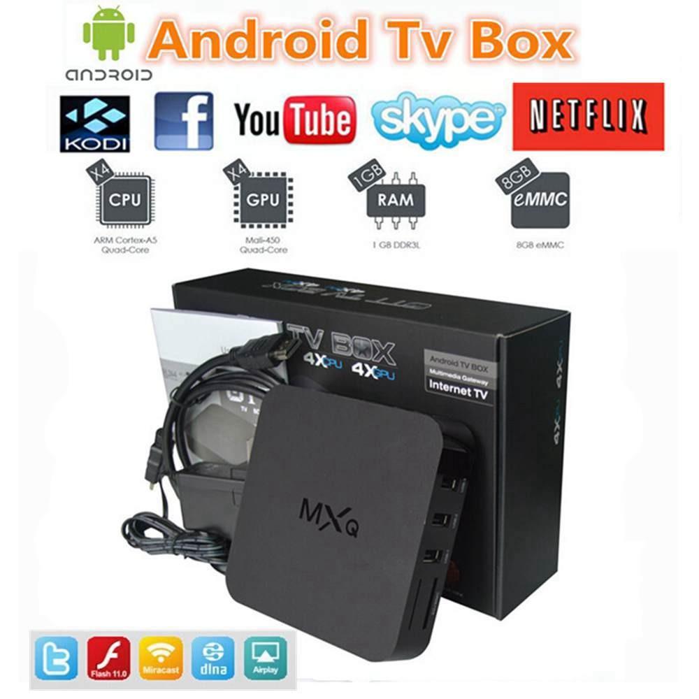 Телеприставка OEM 10pcs/lot MXQ ,  Amlogic S805 4.4 , cs918, M8, MX, Smart tv box  цена