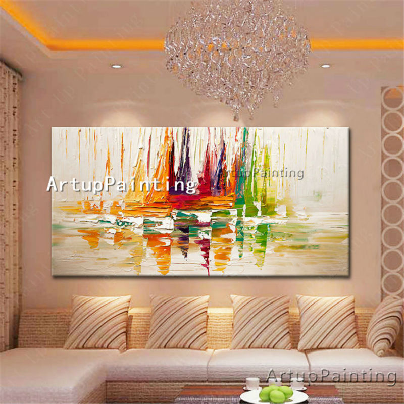 canvas oil paintings wall art pictures for living room large cheap