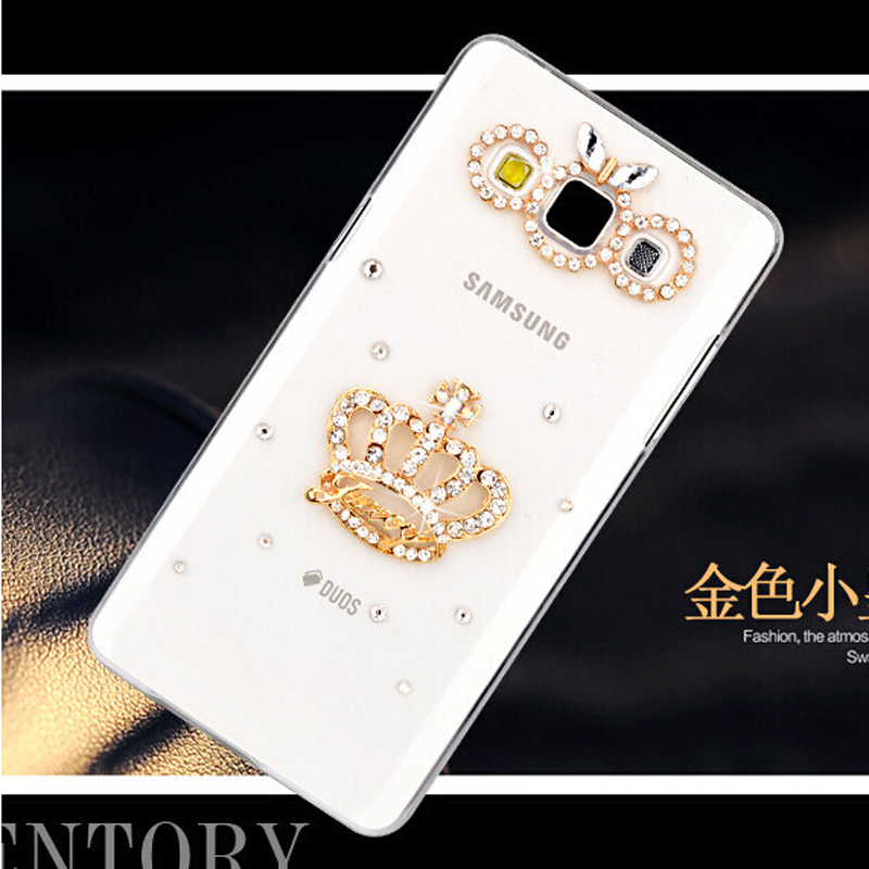 new fashion imperial crown bling transparent diamond cell
