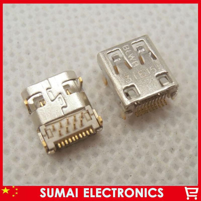 100pcs/lot HDMI D TYPE 19Pin HDMI Female Jack MICRO HDMI Connector SMT&DIP(China (Mainland))