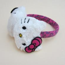 Hot Sale Cute Children Hello Kitty Earmuffs Thermal Plush Ear Muffs Ear Protector Warm in Autumn Winter for Kids Girls(China (Mainland))