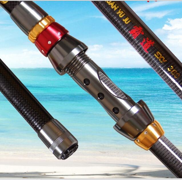 2015 New Telescopic Carbon Surf Casting Reel Rod Spinning Fly Fishing Pole Carp Fishing Stick Boat Rock Fishing Rod pesca(China (Mainland))