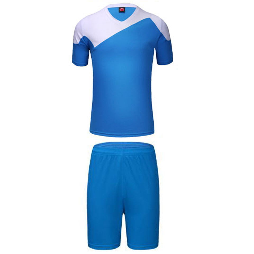Paintless L-3XL soccer jerseys replica football kits sets breathable short-sleeve boys mens training suits sports wear wholesale(China (Mainland))