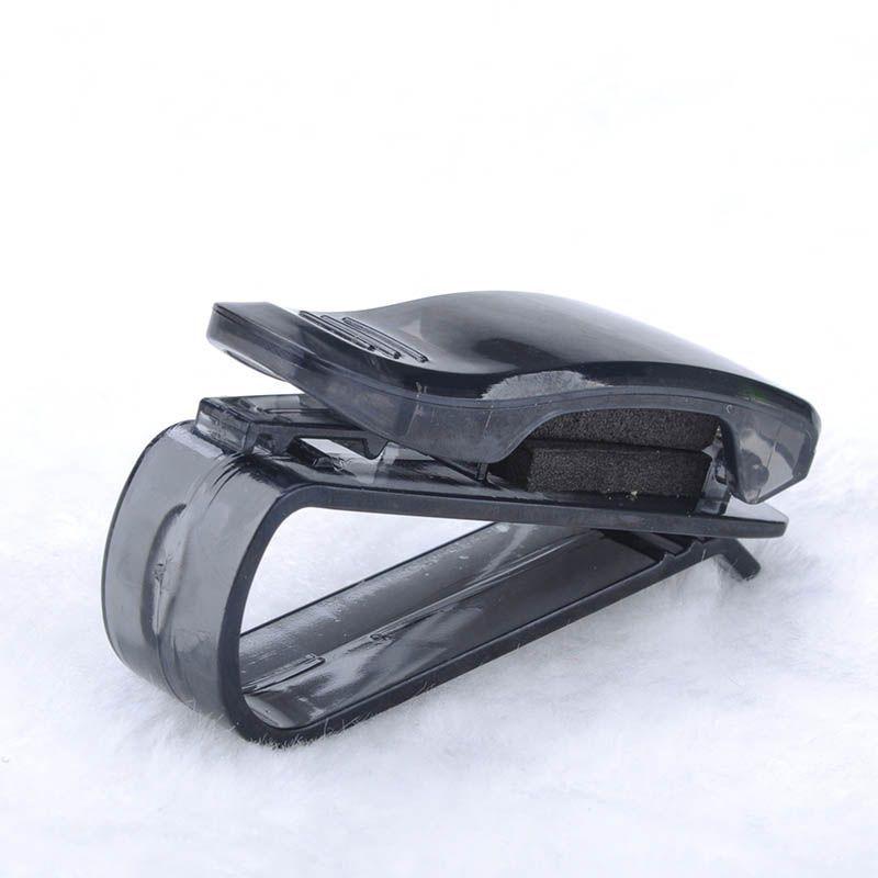 Hot Sale ABS Portable Clips Car Vehicle Sun Visor Sunglasses Eyeglasses Glasses Ticket Holder Clip Free