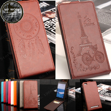 Buy Xiaomi redmi 3 Case Luxury Elegant Windbell Tower Embossing Leather vertical flip protective cover case Redmi 3 hongmi 3 ) for $5.99 in AliExpress store