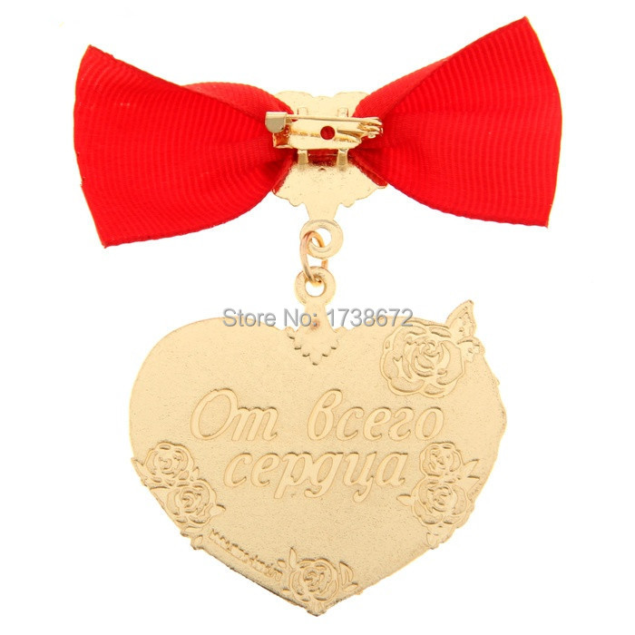 2015 Exclusive Hot Sale Bowknot Medal Birthday Souvenir for The best Grandma in the world Home