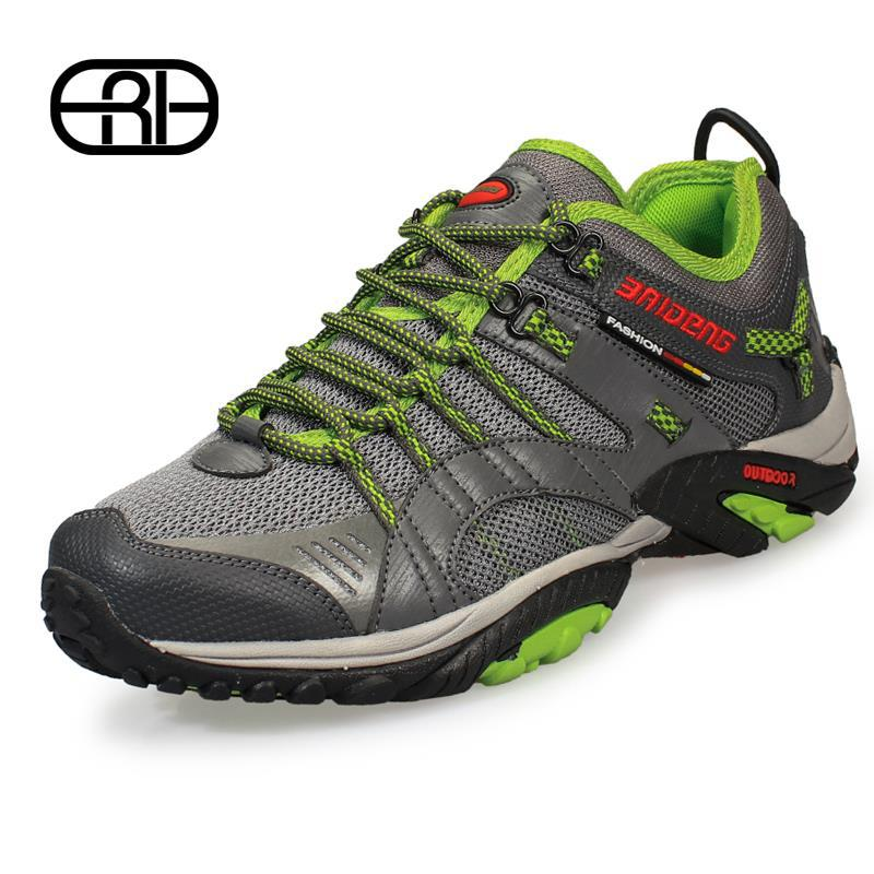 New 2015 Brand Top quality Spring summer men outdoor sports Breathable Fashion comfy athletic shoes Running