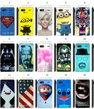 star wars breaking bad stitch tiger 15designs new arrival hybird retail white hard cover cases for Lenovo A708T free shipping
