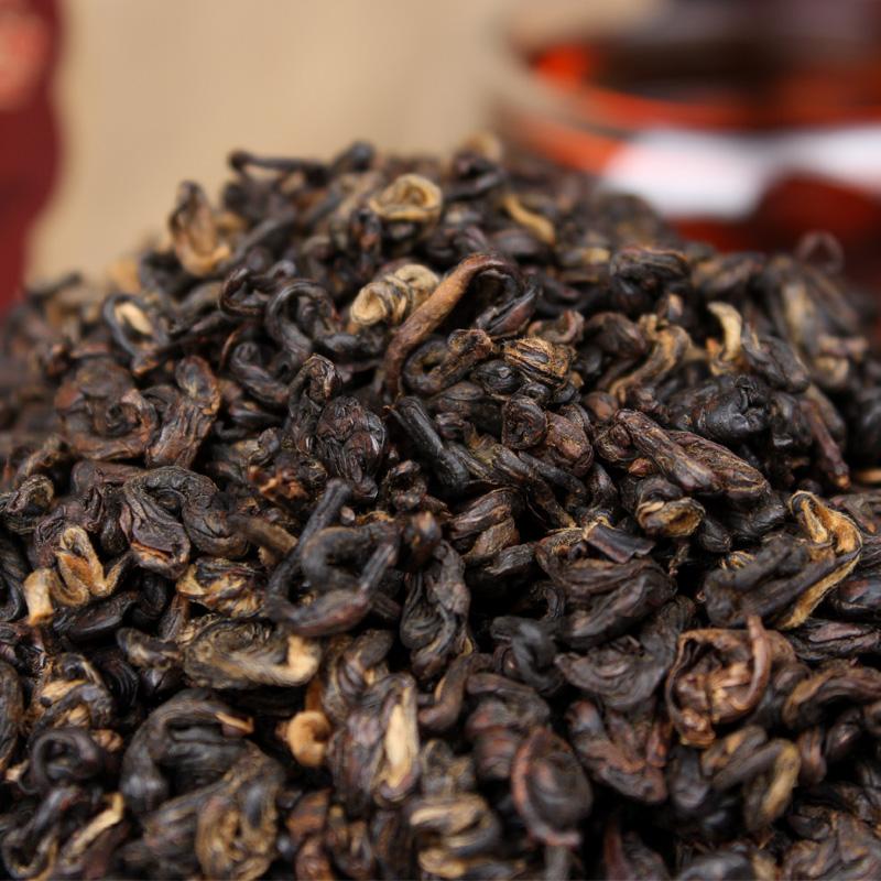 [GREENFIELD] 2017 Strong Flavor Golden Buds China Yunnan Black Tea dian hong 250g Premium yunnan fengqing tea dianhong 250g(China (Mainland))