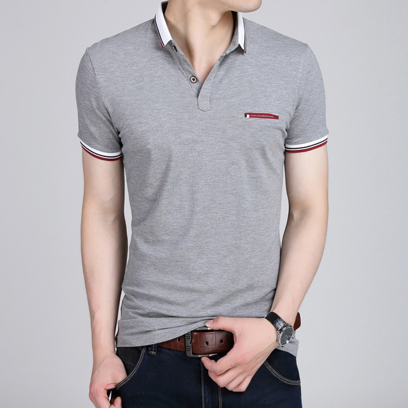 2016 Brand New Men's Polo Shirt For Men Design Polos Men Cotton Short Sleeve shirt sports jerseys golf tennis Plus size XXL XXXL(China (Mainland))