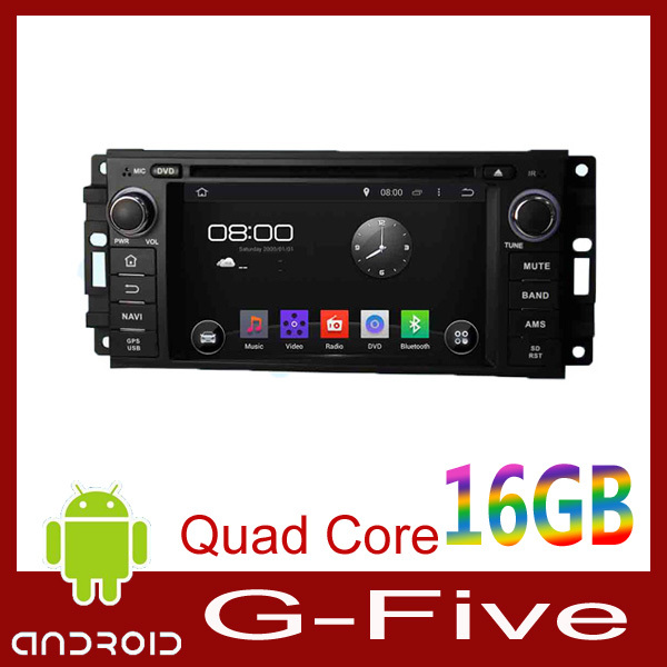 Quad Core Android 4.4.4 Fit Chrysler 300C, Fit Dodge, Fit Jeep 2005 2006 2007 Car DVD Player GPS 3G Radio(China (Mainland))