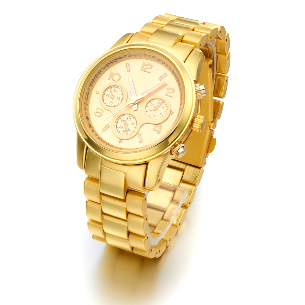 Hot selling Luxury Brand Rose Gold Plated Steel Watches fashion Casual Men women ladies Quartz Wristwatch Relogio Clock Male(China (Mainland))