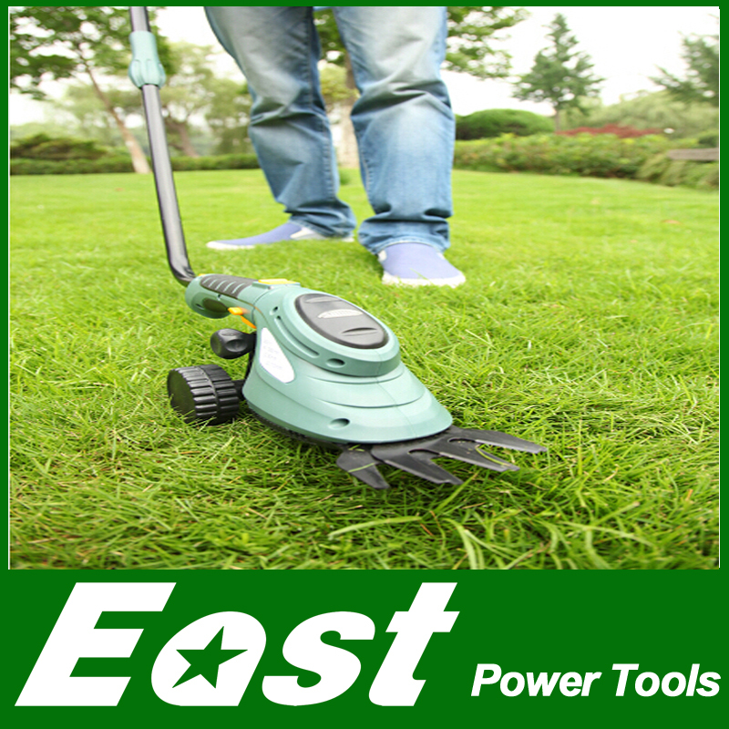 East garden power tools 3.6V 2in1 Li-Ion multifunction Cordless Hedge Trimmer Grass Brush Cutter mini lawn mower pruning ET2903(China (Mainland))