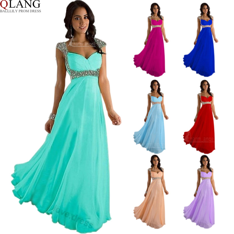 Wedding party dress bridesmaid dresses long prom dresses for Formal dress for women wedding