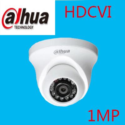 """DAHUA HDCVI DOME Camera 1/2.9"""" 1Megapixel CMOS 720P IR 20M indoor HAC-HDW1000R dahua cctv security camera dahua coaxial camera(China (Mainland))"""