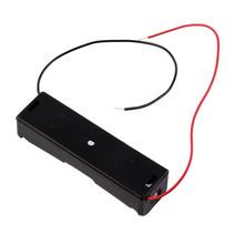 1PCS Plastic Battery Case Holder Storage Box for 18650 Batteries 3 7V Black hot new