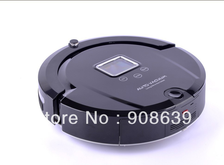 Smart Vacuum Cleaner Robot With 120 Minutes Working Time/Moping/Auto Recharged /UV/Lowest Noise/Remote Controller(China (Mainland))