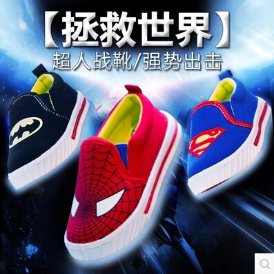 Retail novas criancas primavera sapatos casuais sapatas DE lona crianca masculinos crianca do sexo feminino calcados esportivos(China (Mainland))