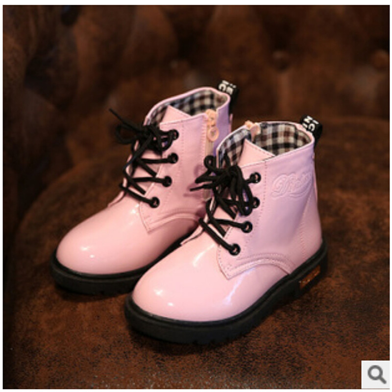 Spring and autumn female male child leather 1 - 2 - 3 baby single shoes little princess Moccasins soft outsole shoes