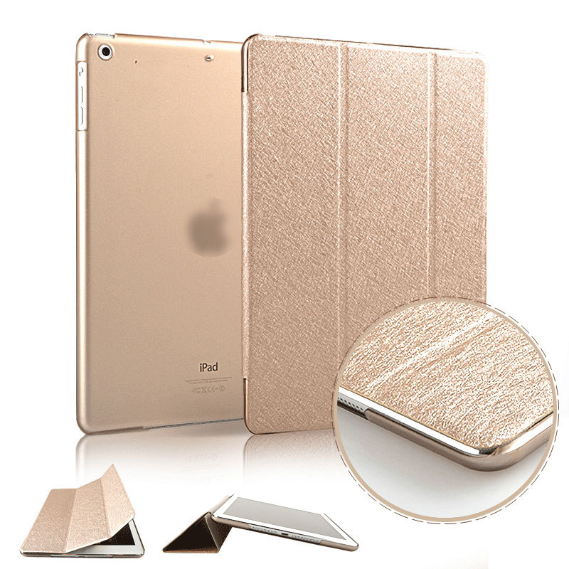 2015 Slim Smart Case for ipad air 1 / air 2 Flip Leather Ultra Thin Smart Stand Cover for Apple Ipad 5 6 for Ipad5 Sleep / UP(China (Mainland))