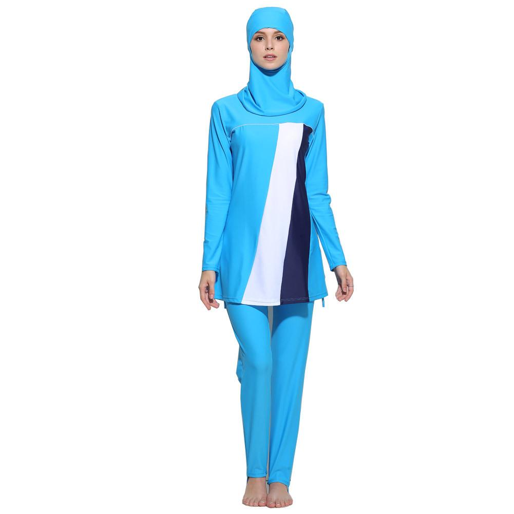 Musulmano costume da bagno promozione fai spesa di - Costume di bagno ...