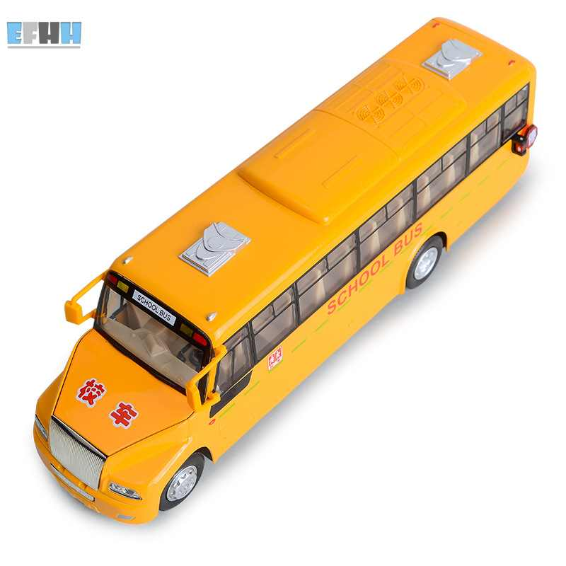 EFHH School Bus Vehicles Car Models Collectible Display Toys(China (Mainland))