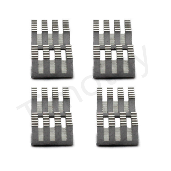 Hot! FREE SHIPPING 8pcs Cooling Shim Pad Thermal CPU GPU VGA RAM Heat Sinks Spreader Memory Cooler For DDR DDR2 DDR3 RAM #DN031(China (Mainland))