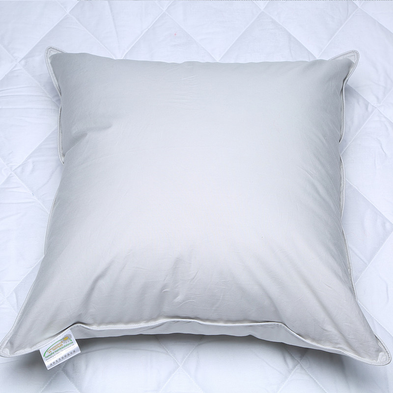 100 White Duck Down Cushion Insert 100 Downproof cotton Hotel Quality Soft Square Multi type