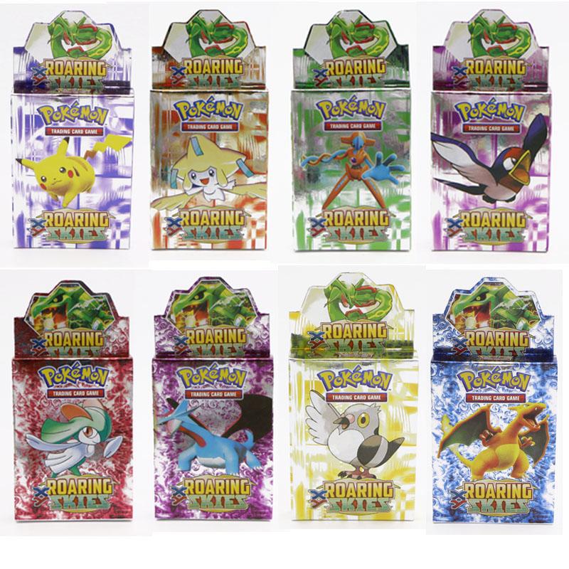 1 Box 25PCS Cards English Pokemon Action Toys Figures kids Charmander Oshawott Tepig Pikachu play Game Collection EX game card(China (Mainland))