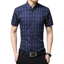 Новый Осенняя Мода Бренд Мужской Одежды Slim Fit Мужчины С Длинным Рукавом рубашки Мужчины Плед Хлопок Повседневная Мужчины Рубашка Социальный Плюс Размер М-5XL(China (Mainland))