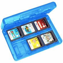 High Quality 28in1 Game Card Case Holder Cartridge Card Holder Box for Nintendo 3DS DSL DSi DSi LL P4PM(China (Mainland))