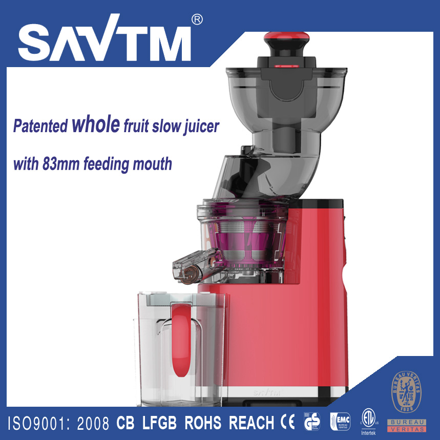 SAvTM Home/Commercial Multi function Electric Slow Juicer Machine Whole Fruit 37 RPM Low speed ...