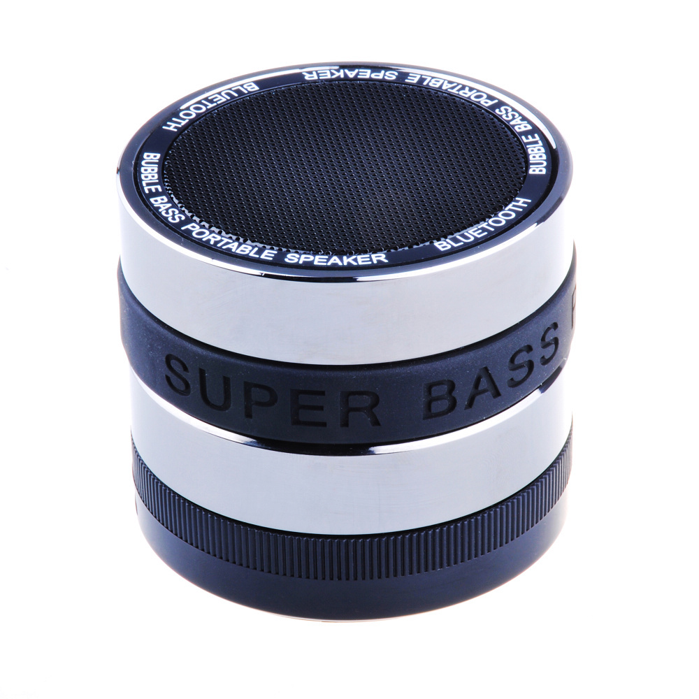 High Quality Mini Portable Wireless Bluetooth Super Bass Speaker With Mic For IPhone 5S 5 4S