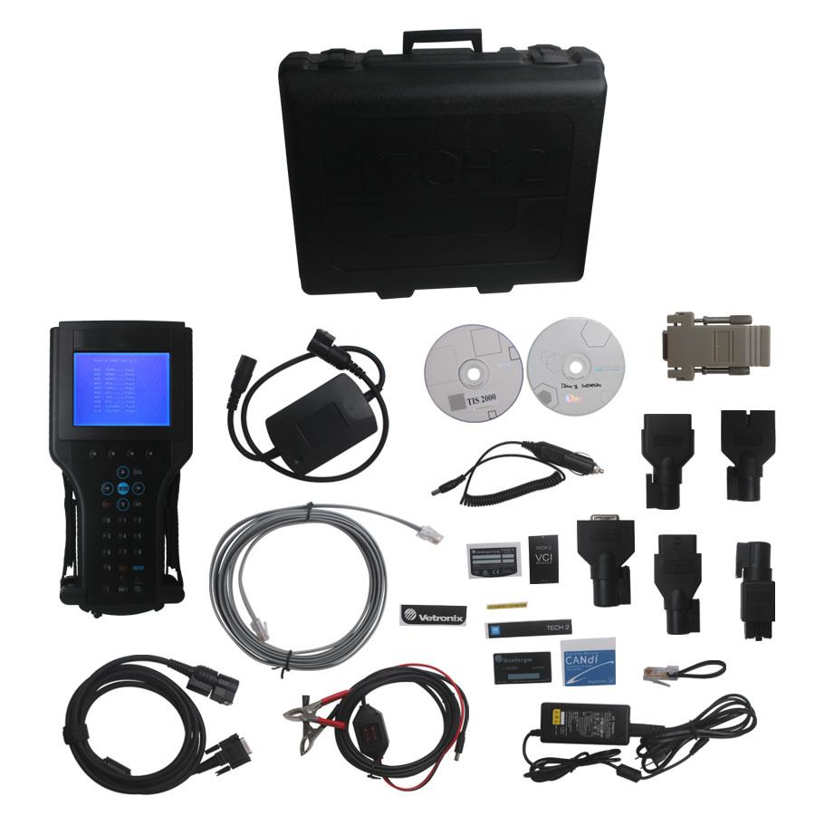 2015 Best Quality GM TECH2 Tech 2 Diagnostic Scanner For GM SAAB OPEL SUZUKI ISUZU Holden Free Shipping(China (Mainland))