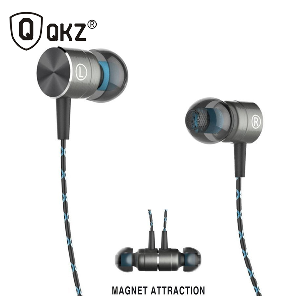 QKZ X41M Magnetic Earphones HIFI Fever in-ear Earphone Transient HeadSet Heavy low quality earbuds Virulent Vocals(China (Mainland))