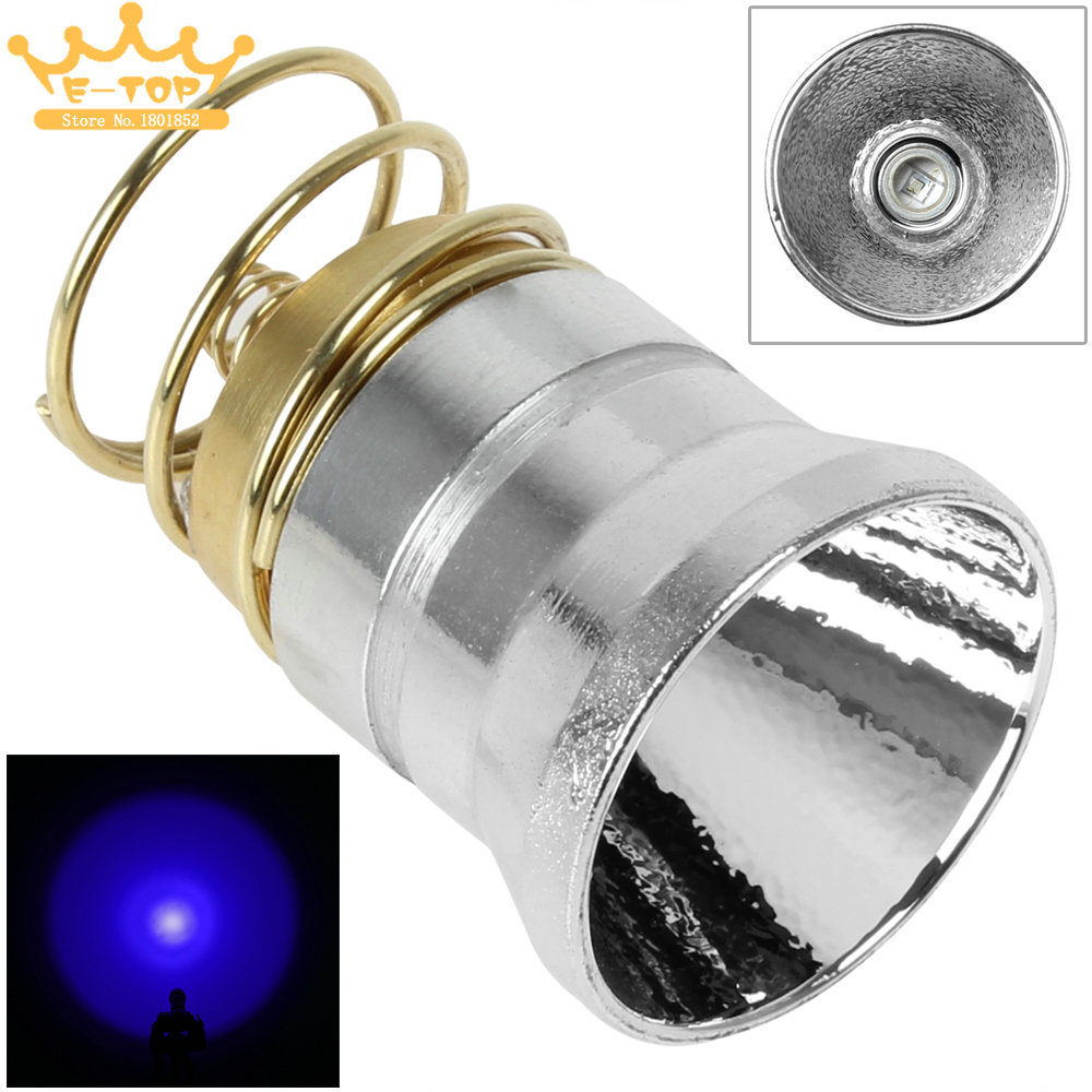One Mode 3-18V Cree LED Flashlight Bulb LED Replacement Fash Light Bulb for 501B / 502B / 501D / 502D Torch(China (Mainland))