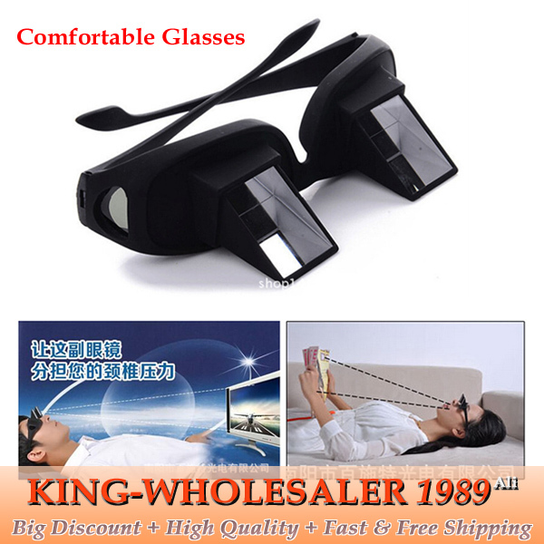 Unique Design Horizontal Lazy Glasses The Most Comfortable Glasses Cozy Eyewear Special for Lying Watching TV