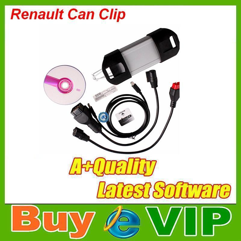 2015 Promotion Renault CAN Clip V146 Scanner With Multi-language Renault Can Clip Diagnostic Interface(China (Mainland))